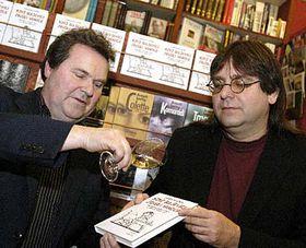 Richard Hasek and Josef Lada, photo: CTK