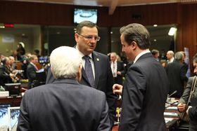 Petr Nečas y David Cameron, foto: Archivo del Gobierno checo
