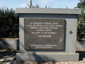 Památník vPohořelicích