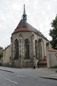 The Church of St. Francis in Prague