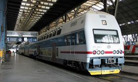Ferrocarriles Checos, Praga