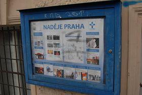 La sede de la asociación 'Esperanza' cerca de la Estación Central de Trenes, foto: Eva Turečková