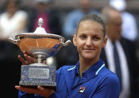 Karolína Plíšková, foto: ČTK / AP Photo / Gregorio Borgia