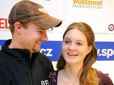 Kateřina Emmons a její manžel Matthew, foto: ČTK