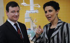 David Rath y Kateřina Pancová, foto: ČTK