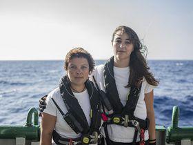 Jitka Kosíková, Lucie Brázdová, photo: Andrew McConnell / Panos Pictures