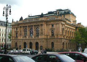 El teatro de la ciudad de Liberec, foto: Martina Stejskalová