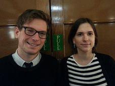 Kryštof Vosátka, Veronika Pehe, photo: Ian Willoughby