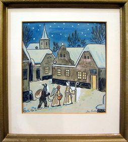 Vánoce od Josefa Lady, foto: Galerie Smečky