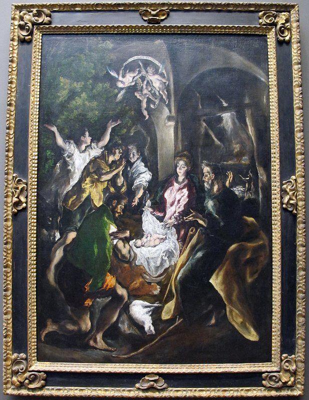 La Adoracion De Los Pastores De El Greco Se Expone En Olomouc
