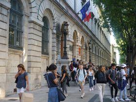 Le lycée Alphonse Daudet de Nîmes, photo: Magdalena Hrozínková