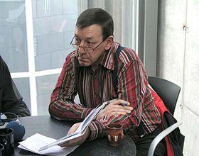 Escritor andorrano, Antoni Morell (Foto: autora)