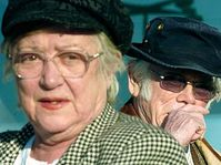 Zdena Salivarová a Josef Škvorecký, foto: ČTK