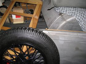 Überreste des Firmenwagens (Foto: Romy Ebert)