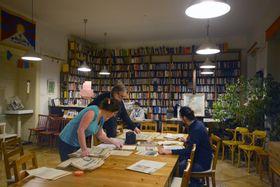 Libri Prohibiti library, photo: Eva Turečková