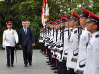 Andrej Babiš en Singapur, foto: ČTK / Radek Jozífek