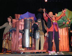 Спекталь по мотивам цыганских сказов «Яблоки молодости»