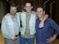 Petr Klima, Michal Kubal and Vit Pohanka back in Czech Republic, photo: CTK