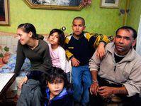 Romany family evicted from Vsetin, photo: CTK