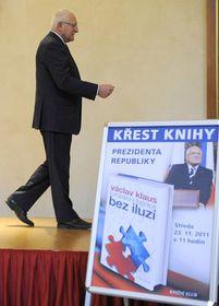 Presidente Václav Klaus, foto: ČTK