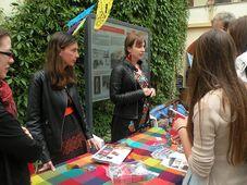 Anna Poledňáková y Lucie Hrušková  en el Festival de la Cultura Latinoamericana, foto: Dominika Bernáthová
