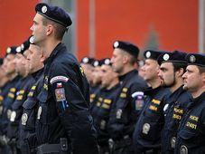 Отряд чешской полиции, Фото: Филип Яндоурек - Чешское радио