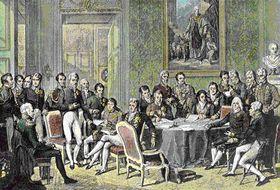 Vídeňský kongres, zdroj: Public Domain