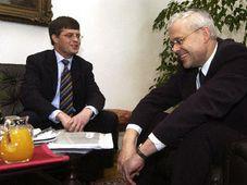 Vladimr Spidla und Jan Peter Balkendende (Foto: CTK)