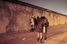 Le mur à Berlin, photo: CTK