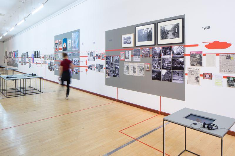 L'exposition Karafiáty a samet, photo: Sandra Baborovská