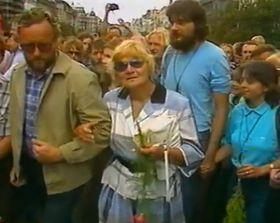 21. August 1989 (Foto: Tschechisches Fernsehen)