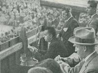 Josef Laufer in 1928, photo: archive of Czech Radio