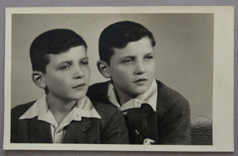 Dvojčata Jiří aJosef Fišerovi, foto: archiv nakladatelství ZEĎ