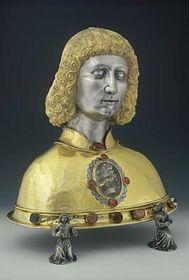 Relikviářová busta sv. Víta