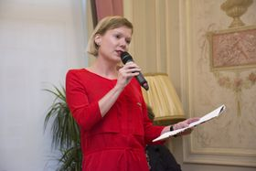 Jitka Pánek Jurková, photo: Centre tchèque de Bruxelles