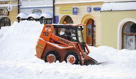 La neige a paralysé la vie à Frýdlant, photo: CTK