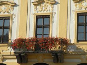 Balkon písecké radnice, foto: Martina Bílá