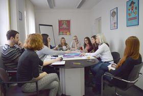Equipo de la sección social y legal  (Foto: archivo Poradna)