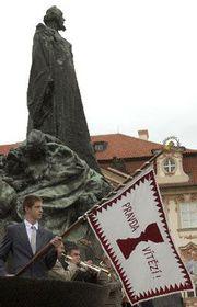 День памяти Яна Гуса в Праге, фото ЧТК