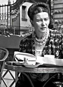 Simone de Beauvoir, photo : Wikimedia Public Domain