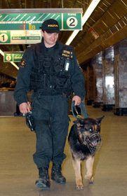 Security measures in Prague, photo: CTK
