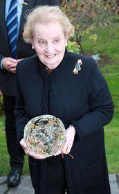 Madeleine Albright, photo: Barbora Kmentová/ Czech Radio 7 - Radio Prague