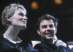 Judith Godrèche et François Ozon, photo: CTK