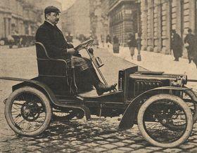 Laurin&Klement Voiturette A (Foto: Archiv Škoda Auto)