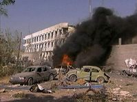 United Nations headquarters in Baghdad after the Wednesday's attack, photo: CTK
