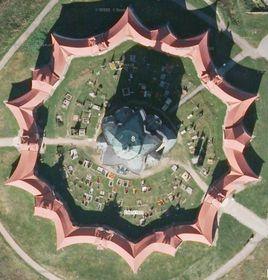 Храм св. Яна Непомуцкого на Зеленой Горе, фото: Mapy Seznam