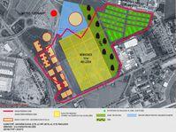 Území, kde by měla být vybudována nová vládní čtvrť, zdroj: archiv Magistrátu hl. m. Prahy