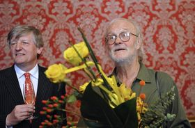 Václav Riedlbauch (vlevo) aJosef Koudelka, foto: ČTK