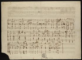 'The Song of Liberty' by Bedřich Smetana, photo: archive of National Museum