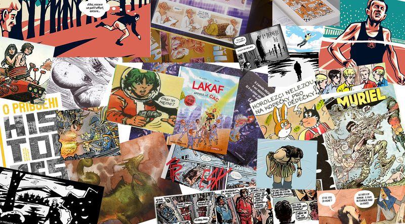 Les bandes dessinées tchèques, collage: Radio Prague Int.
